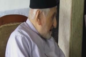 در دیدار با پدر شهید حمید باقری
