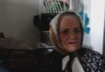 در دیدار با مادر شهید هاشم حسینی